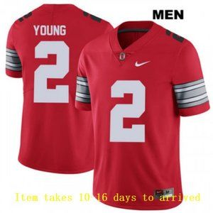 Mens Ohio State Buckeyes #2 Chase Young Jersey